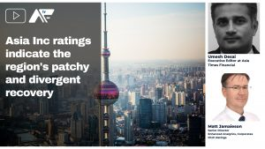 Asia Inc ratings indicate the region's patchy and divergent recovery