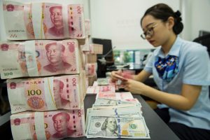 Parity for yuan-USD rises 47 bps