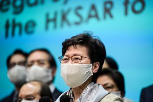 Hong Kong Leader Dismisses Big Tech Fears Over Privacy Law