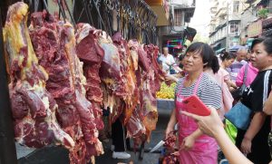 China news digest: markets stable, bond spending, pork prices down