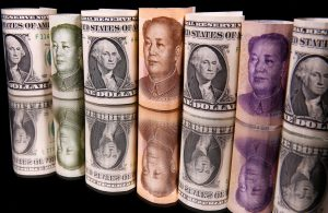 Yuan firm after a soft start, swinging higher on dollar selling
