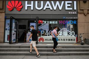 Huawei Reports Biggest Ever Revenue Drop as Growth Stutters