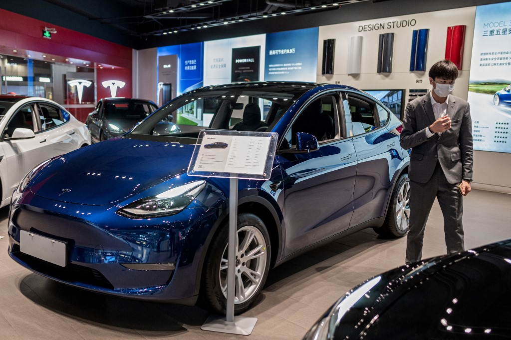 Tesla's China sales fell by half in May, report claims
