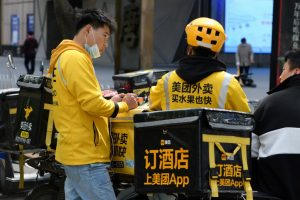 China Fines Delivery Giant Meituan $527m For Monopolistic Abuses