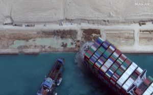 Egyptian court upholds detention of ship that blocked canal