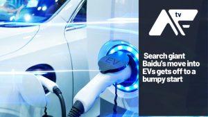 Search giant Baidu enters EV market to arrest decline