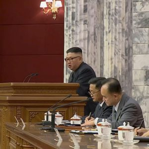 North Korea's Kim warns of 'grave incident' in battle against pandemic