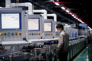 China's Factory Activity in July Grows at Slowest Pace in 17 Months
