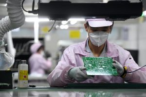 China's Factories and Retailers Suffer Covid, Supply Disruptions Slump