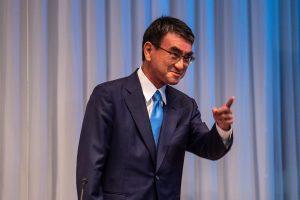 Renewable Energy Pins Hopes on Taro Kono Winning Race for Japan PM