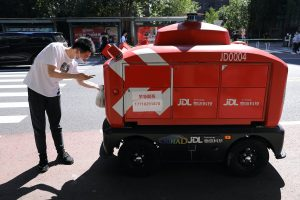 Alibaba, Meituan and JD.com Aim To Deliver With Aid Of A Robot Army