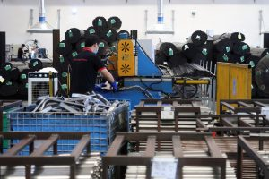 China Manufacturing Unexpectedly Shrinks, Services Offer Support