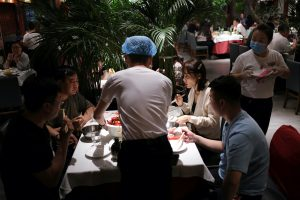 China's Services Activity Slumps After Delta Lockdowns