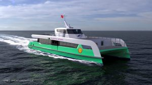 Singapore's First Electric Ferries Set Sail for Shell Island Refinery