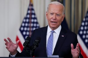 Biden Says US Would Defend Taiwan From China Attack